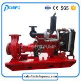 Maakte een lijst de Diesel van de Fabrikant van de Pomp van de Brand van China Pomp Met motor van de Brandbestrijding UL van 750gpm