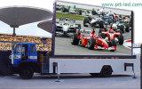 トラックによって取付けられる屋外広告のLED表示スクリーン(P10 DIP346)