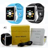 Спорта 2017 wristwatch дешевого цифров Bluetooth франтовской с 2.0 камерой A1