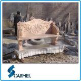 최신 판매 중국 화강암 정원 벤치