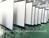 中国の製造の1:1 70X70の携帯用三脚プロジェクター映写幕OEM&ODM