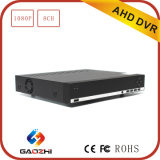 Soporte P2P H 264 1080P 8CH independiente Ahd DVR