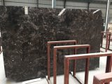 Dark Emprador chino mármol pulido para pisos y revestimientos de albañilería