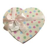 Rectángulo de regalo del papel de la cartulina de la Navidad de Deoration de la cinta