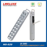 Recargable SMD LED linterna de emergencia