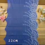 [20كم] يرتّب تطريز زرقاء مغزولة شريط بناء لباس داخليّ شريكات نسيج