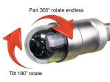 防水IP68鍋の傾きはパイプラインの点検装置のためのカメラを回す