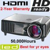 Funciones multimedia Home Theater Cine portátil proyector LCD Proyector de LED