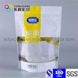 Personalizzato laminato levar in piedi in su il sacchetto di VMPET con la chiusura lampo per lo zucchero
