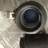 valvola a sfera del acciaio al carbonio 1000wog 2PC con il certificato del Ce