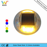 Novo Refletor de marcador de estrada solar de luz solar intermitente amarelo