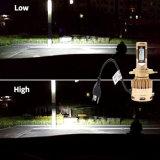 [هيغت] نوعية سيارة سيجارة صندل [لد] ضوء مع [بست] 4800 تجويف صغير ضوء ذاتيّة و9007 [لد] مصباح أماميّ
