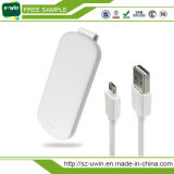 4000mAh/5000mAh/10000mAh chargeur chargeur portatif avec clip de ceinture