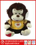 발렌타인 데이 동안 선전용 견면 벨벳 원숭이 선물 장난감