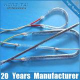 Riscaldatore elettrico del tubo dell'alogeno del quarzo di risposta veloce