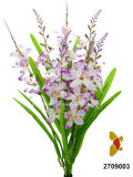 Orchidea Bush (2709003) di Plastic/Silk/artificiale fiore