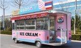 Mobile de 5 mètres de la crème glacée fast-food chariot/VAN POUR LA VENTE