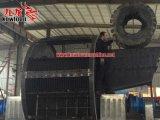 Due trinciatrice della gomma usata diametro dei motori 1.6meter da vendere