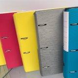Venta al por mayor dura de la carpeta del anillo del fichero impreso del color de la tarjeta del nuevo diseño