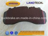 우수한 브레이크 Landtech 트럭 또는 버스 디스크 브레이크 패드 Wva 29087/29279/29202/29253
