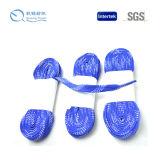Cordones de zapato encerados hilado durable modificados para requisitos particulares de la insignia