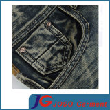 Young Men (JC3402)のためのレトロのStraight Slim Distressed Jeans