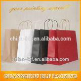 White variopinto personalizzato Kraft Paper Bag per Garment (BLF-PB101)