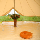 6m роскошь Glamping кокосовое волокно фильтровальную ткань Tipi Bell палатка с плитой отверстие
