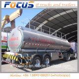 휘발유 가솔린을%s 가벼운 반 공허 중량 알루미늄 합금 탱크 트레일러