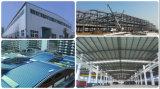 Поставщик Китая гальванизировал светлый пакгауз мастерской стальной структуры датчика