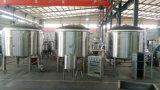 1000L 1500Lの蒸気暖房の80cmの岩綿PUが付いている電気暖房のボイラー醸造のやかん