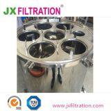 水処理のためのステンレス鋼のバッグフィルタ