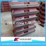 Niedriger Preis-Vakuumprozess-Gussteil-formenmaschinen-Sand-Kasten/Kolben