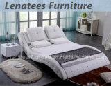 Кровать мебели спальни A506 самомоднейшая кожаный