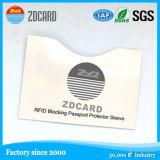 Un buen rendimiento de bloqueo de RFID, Titular de Tarjeta de Crédito de aluminio