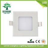 CE RoHS Certified 3W Square DEL Ceiling Light Panel
