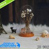 円形のガラスドーム、ガラスガラス鐘、ガラスドームカバー