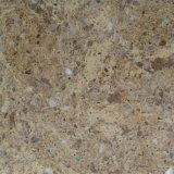Quarzo di marmo artificiale per la parte superiore di vanità del controsoffitto della stanza da bagno