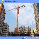 中国のデリックの水平寄せのタワークレーン