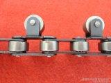 Chaîne de convoyeur galvanisé à chaîne à roue latérale à chaîne flexible pour aliments
