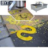 Ranurador de poco ruido del CNC del corte del manganeso