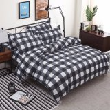 Home padrão de impressão têxtil edredão de cama da Tampa