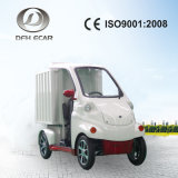 De mini Elektrische Vrachtwagen van de Lading van het Voedsel met Doos Insultaed
