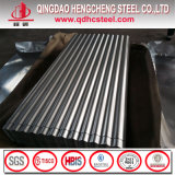 S550gd+Az Galvalume de metal corrugado Folha do telhado para a construção