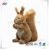9 Polegadas Animal recheadas de esquilo de pelúcia Toy