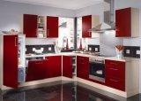 Armoires de cuisine en acrylique blanches modernes (ZHUV)