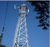 4脚タワーの自己サポートの格子三角タワー