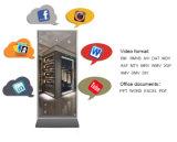42 Zoll-mit Berührungseingabe Bildschirm LCD, das magische Spiegel-Bildschirmanzeige mit Photobooth bekanntmacht