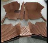 couvre-tapis en cuir 2007-2017 de véhicule de 5D XPE pour Peugeot 3008