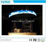 Weicher farbenreicher transparenter LED flexibler Innenbildschirm des Großverkauf-bester Preis-HD P4